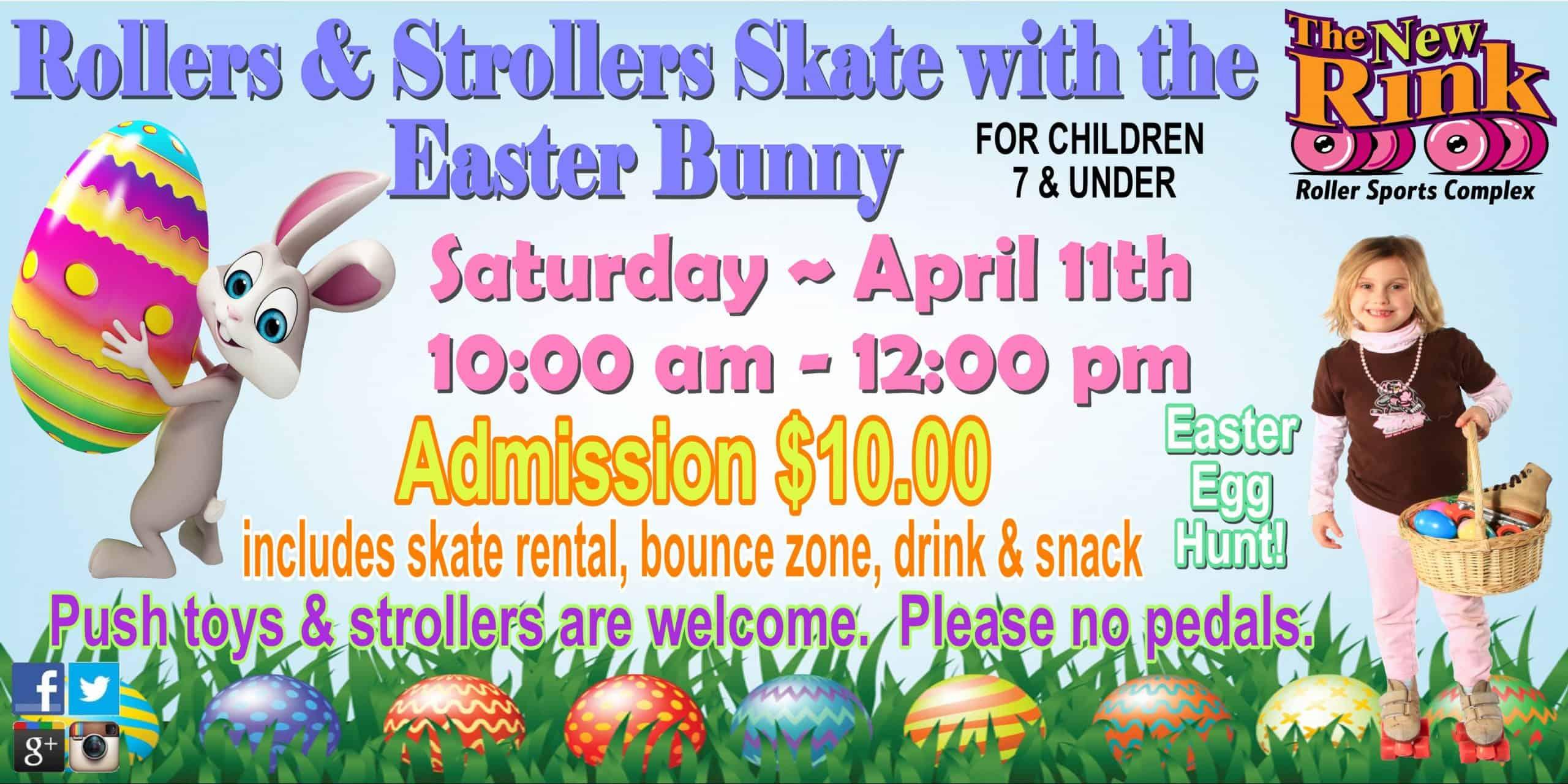 Easter Bunny Skate Utica Shelby