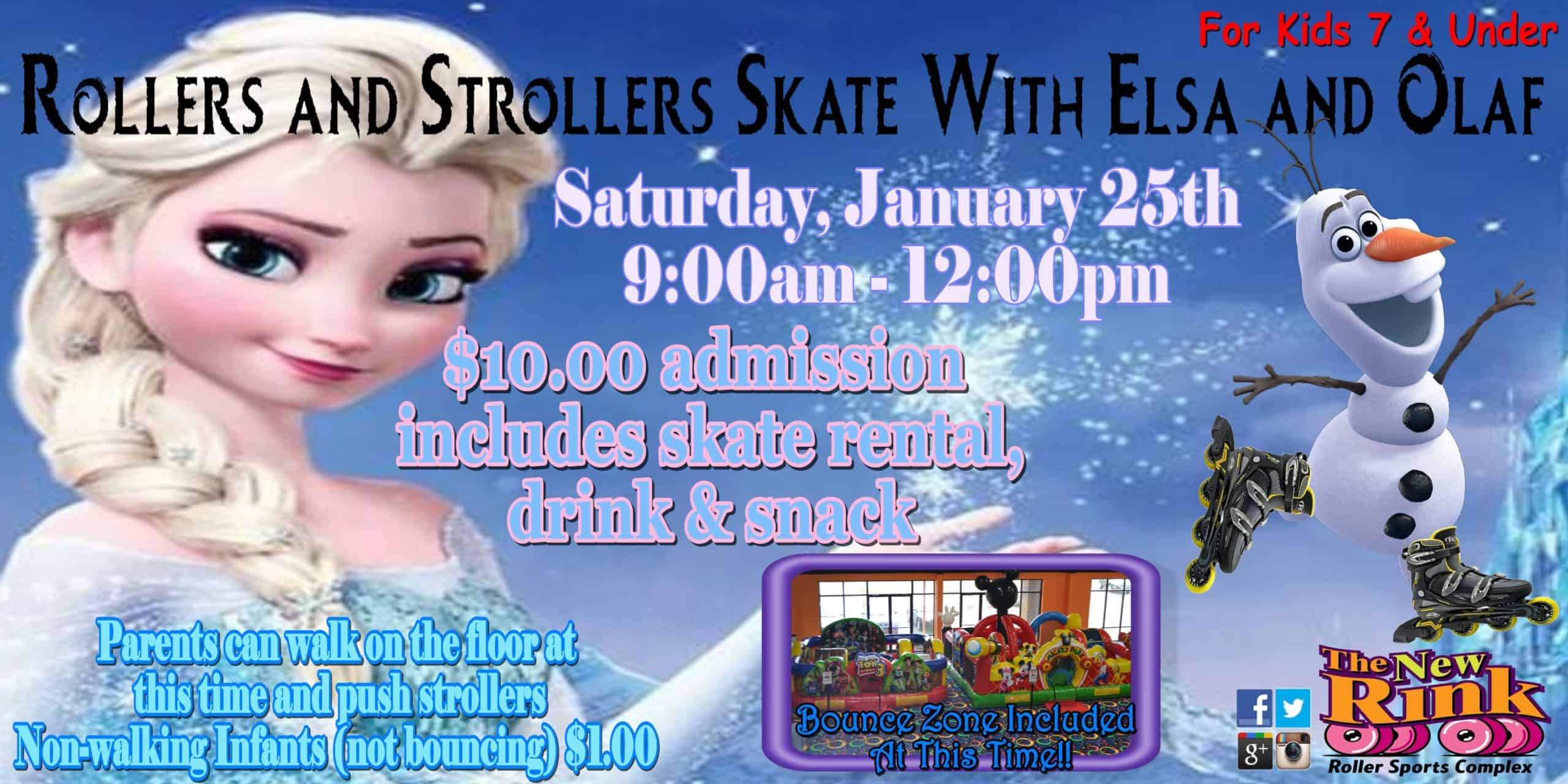 Elsa Olaf Rollers n Strollers_t