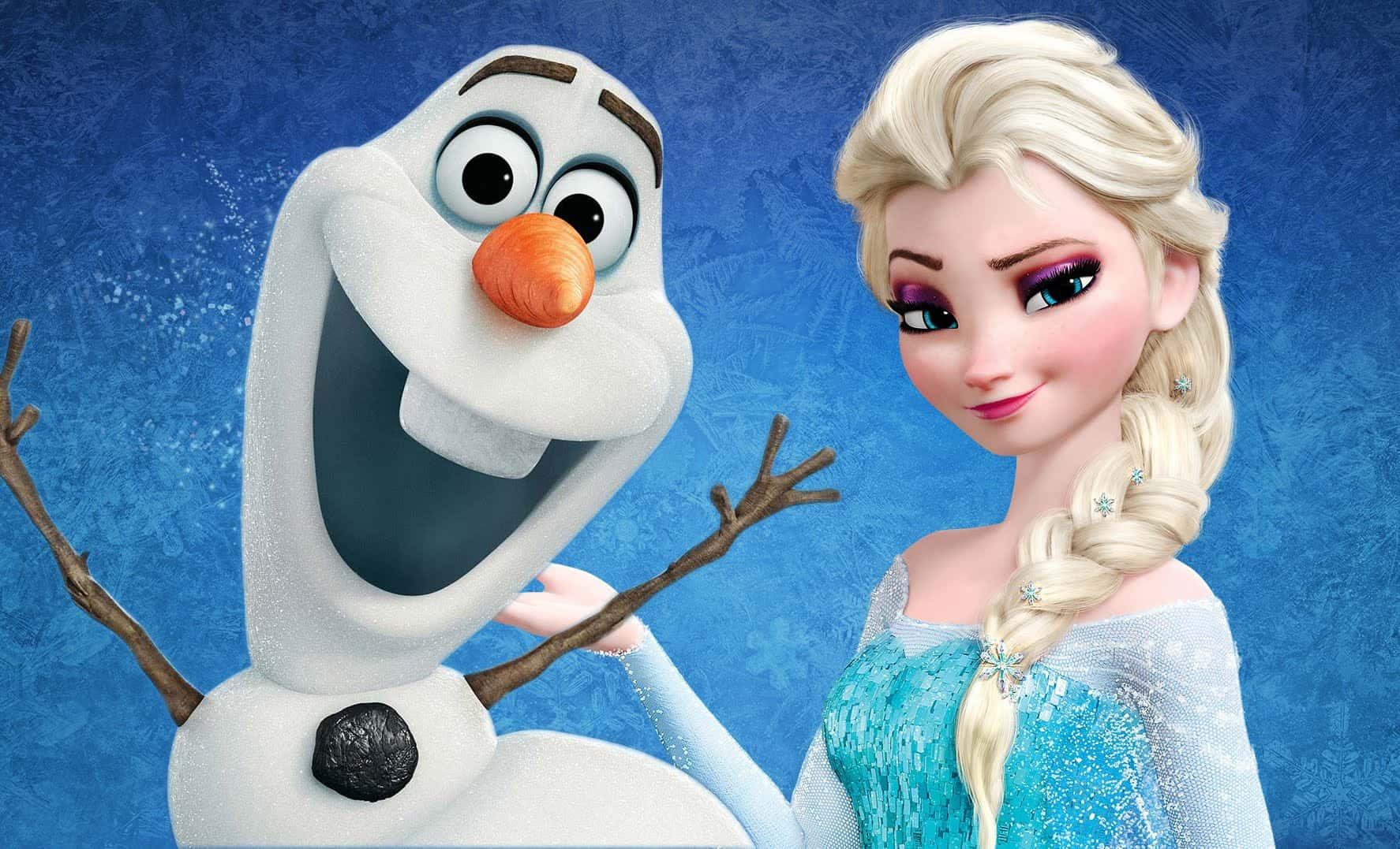 Elsa-and-Olaf