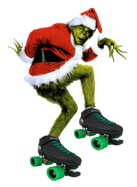 Skate with the grinch shelby twp event holiday event